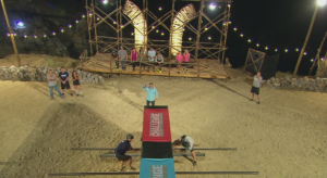 "Jamie vs. CT in the ""Hand It Off"" Elimination Pit"